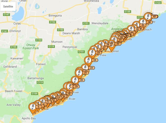 Rohan flies the South Australia Coast