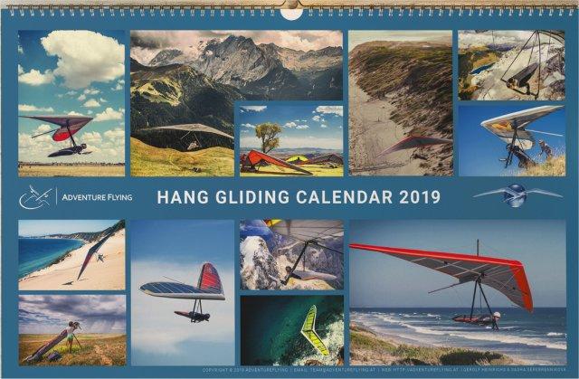 2019 Hang Gliding Calendar from Sasha
