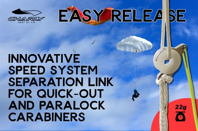 Easy Release for Paragliders
